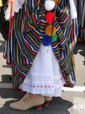 Kobieta tradycyjny dzielnicowy kostium La Orotava, Tenerife w wyspach kanaryjska Fotografia Stock