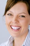 kobieta uśmiechnięta Obrazy Royalty Free
