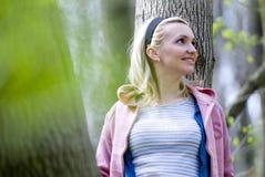 kobieta uśmiechnięta Fotografia Stock