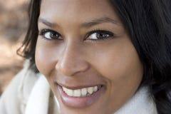 kobieta uśmiechnięta Obrazy Stock