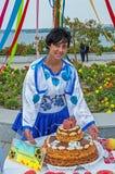 Kobieta ukraińska Obraz Royalty Free