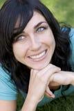 kobieta uśmiechnięta Zdjęcia Royalty Free