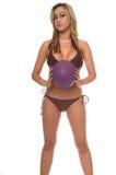 kobieta vollyball plażowa Fotografia Stock