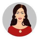 Kobieta w biżuterii Zdjęcie Stock