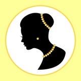 Kobieta w biżuterii Fotografia Stock