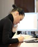 Kobieta w biurze Obrazy Stock