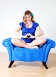kobieta w ciąży Zdjęcie Stock