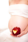 kobieta w ciąży Zdjęcia Stock