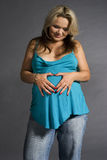 kobieta w ciąży obrazy stock