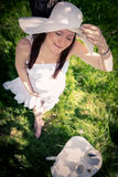 Kobieta w ciąży Obraz Royalty Free
