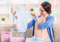 kobieta w ciąży Obrazy Royalty Free