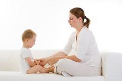 kobieta w ciąży dziecka Fotografia Stock