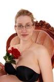 Kobieta w ciąży w karle Obraz Royalty Free