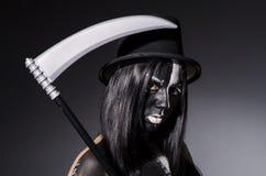 Kobieta w Halloween pojęciu Zdjęcie Royalty Free