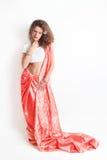 Kobieta w Indiańskiej modzie zdjęcia stock