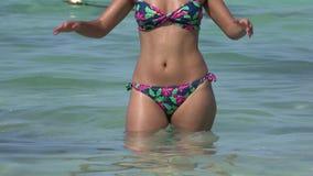 Kobieta w kostium kąpielowy zbiory