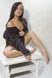 Kobieta w kurtce Obraz Stock