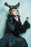Kobieta w lala stylu. Fotografia Stock