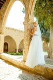 Kobieta w ślubnej sukni Zdjęcie Royalty Free