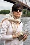 Kobieta w okulary przeciwsłoneczne Obrazy Stock