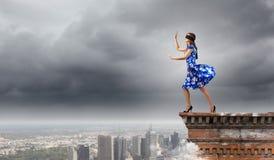 Kobieta w opasce Fotografia Stock