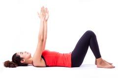 Pilates akcja Zdjęcie Stock