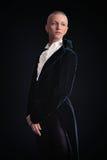 Kobieta w tailcoat fotografia royalty free
