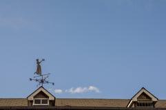 Kobieta w wiatrze Obrazy Royalty Free