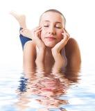 kobieta wody Fotografia Royalty Free