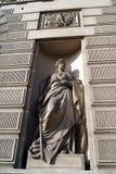 Kobieta wojownika statua Zdjęcie Royalty Free