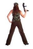 kobieta wojskowa Fotografia Royalty Free