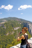 kobieta Yosemite Obraz Royalty Free