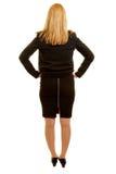 Kobieta z biznesów ubraniami brać od plecy Zdjęcie Royalty Free