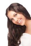 Kobieta z piękną zdrową skórą Zdjęcie Stock