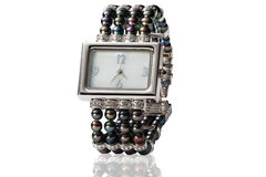 Kobieta zegarek Zdjęcie Royalty Free