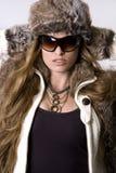 kobieta zimy Zdjęcia Royalty Free