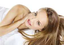Kobieta zmysłowy model Obraz Royalty Free