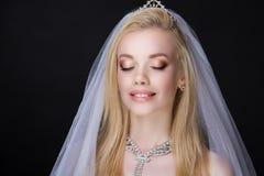 Kobiety ślubna panna młoda Fotografia Stock