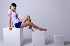 1 kobiety Zdjęcia Stock