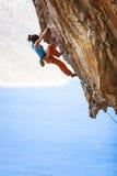 kobiety arywista skały young Fotografia Stock