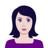 Kobiety avatar Zdjęcia Stock