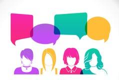 Kobiety avatar profil ilustracji