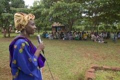 Kobiety bez mąż kobiet które ostracized od społeczeństwa Obrazy Royalty Free