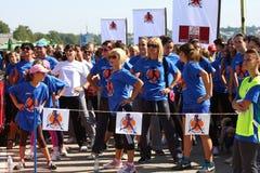 Kobiety biegowe zdjęcia royalty free