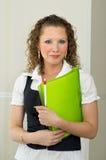 Kobiety biura portret Zdjęcie Stock