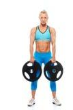 Kobiety bodybuilder Obrazy Royalty Free