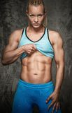 Kobiety bodybuilder fotografia royalty free