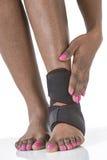 Kobiety bunion nożna ochrona Zdjęcie Royalty Free