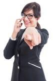 Kobiety business manager lub pracodawca chosing pracownik Zdjęcie Stock