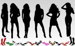 kobiety butów Zdjęcia Stock